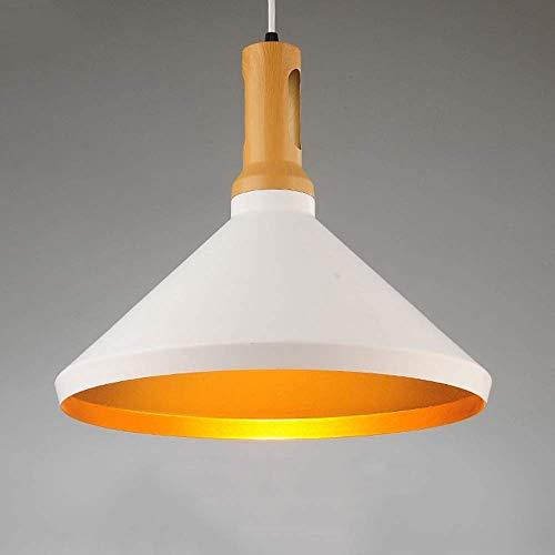 Beautiful lampen/hanglamp van hout Nordic for Home verlichting hanglamp van aluminium lampenkap hoofdlamp keuken licht ijzer E27 enkele kop