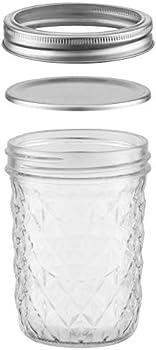 Aitsite 16 Oz Canning Jar Set With Regular Lids