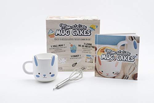 Coffret bleu Mon atelier mug cake