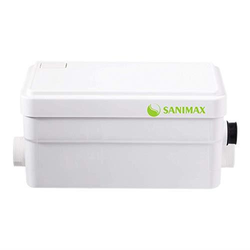 Sanimax Trituratore Maceratore Pomp 2 in 1 WC Lavabo bidet vasca doccia Super silenzioso 250W