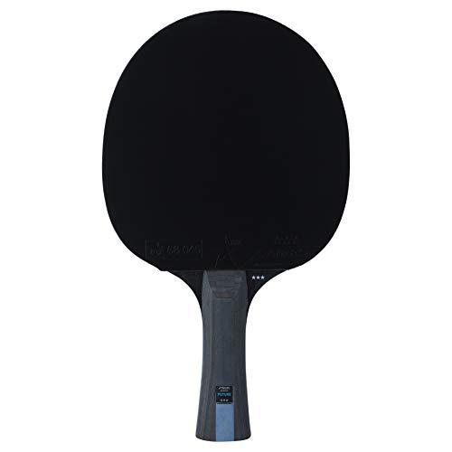 Stiga Unisex-Adult 3-Star Future tischtennisschläger, Red/Black, One Size