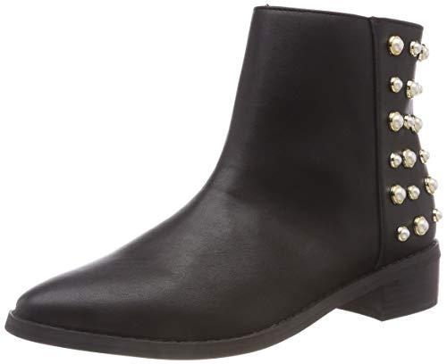 Vero Moda Vmkelina Boot, Stivaletti Donna, Nero (Black Black), 38 EU