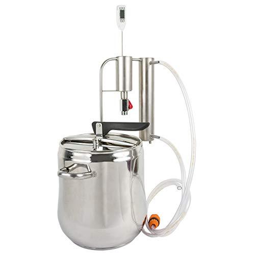 AlcoFermBrew Destillierapparat 12L mit Kühler und Absetzbecken | Brennapparaten – Schnellkochtopf