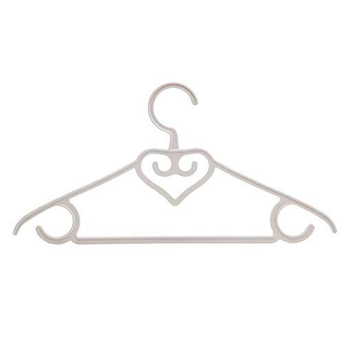 Percha Percha de plástico del hogar Libre de Secado de la Ropa de usos múltiples Percha, 20pcs