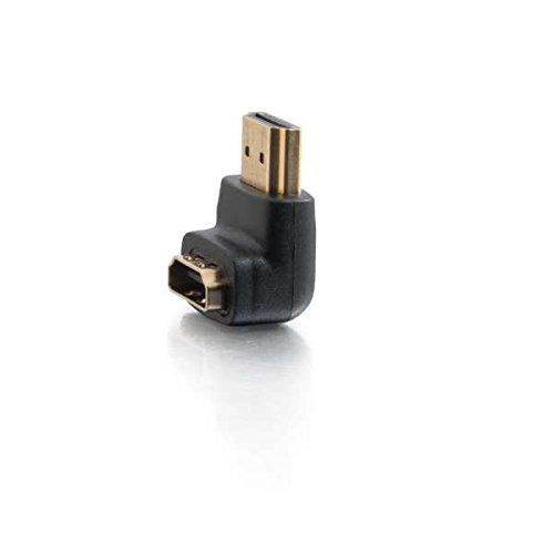 C2G 80562 câble vidéo et Adaptateur HDMI Noir - Câbles vidéo et adaptateurs (HDMI, HDMI, Mâle, Femelle, Noir, 13 g)