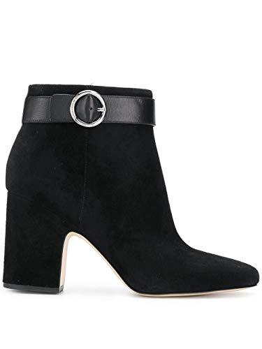 Michael Kors Luxury Fashion Femme 40T8ANHE5S001 Noir Suède Bottines   Saison Permanent