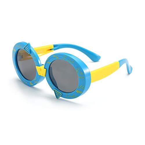Sunglasseslifes Sunglasseslifes Kinder klassisch polarisierte Sonnenbrillen Silikon-Material, sicher und sicher-UV400 Schutz Unisex,2