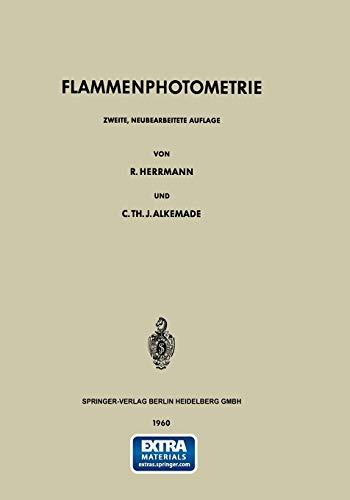 Flammenphotometrie (German Edition)