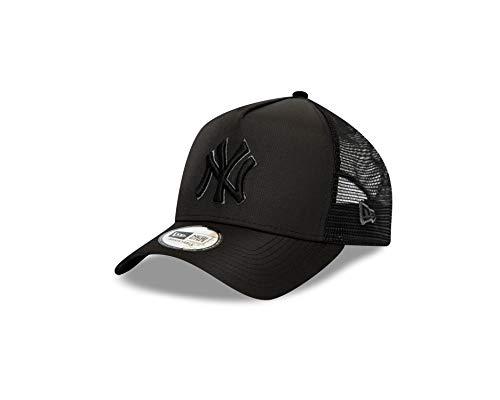 New Era New York Yankees - Cappellino MLB Trucker da baseball, taglia unica, colore: Nero