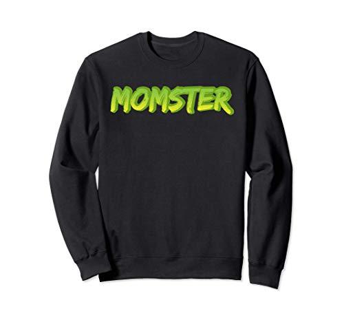 Halloween-Kostüm, Momster, Mutter, Monster-Mommy Sweatshirt
