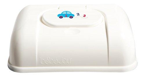 Bebe-jou 621347 123 - Caja para toallitas, color blanco