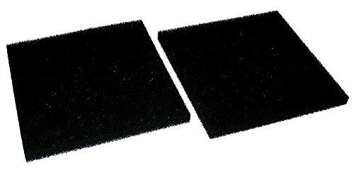 2x aktiver Karbonfilter Karbon Filter für Rauchabzug Rauchabsorber ZD153 und ZD153A