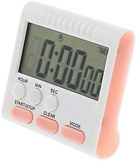 Renfengchui Lcd digital kökstimer väckarklocka matlagning nedräkning väckarklocka magnet klocka stoppur med stativpulver