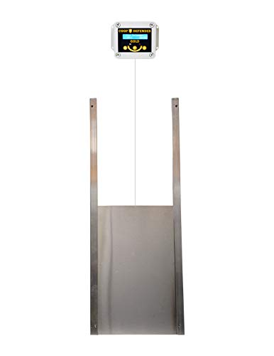 Coop Defender Gold Automatic Chicken Coop Door Kit | Opener with Timer and Light...