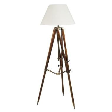 Campaign Tripod Floor Lamp