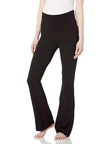 Product Image of the Three Seasons Maternity Women's Maternity Solid Knit Yoga Pant, Black, Medium