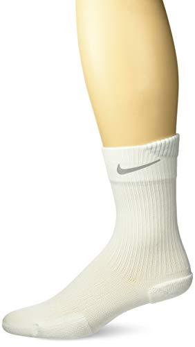 Nike Unisex's Spark Cushion Crew Socks, White, (White/Reflective), 8-9.5 (41-43 EU)