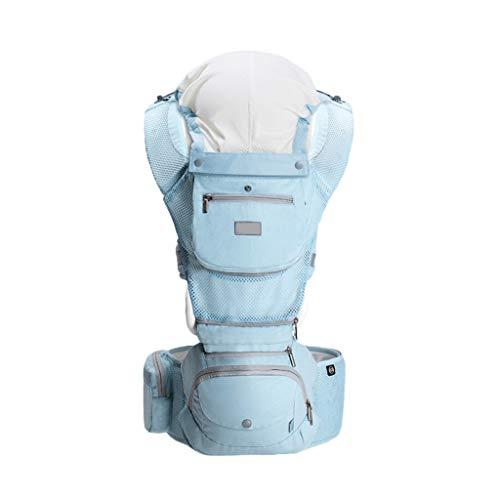 Porte-bébé Multifonction Respirant Bébé Tissu de Coton Confortable pour l'été ( Color : C )