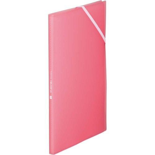 キングジム クリアファイル ホルダーイン A4 8ポケット 6171TW ピンク