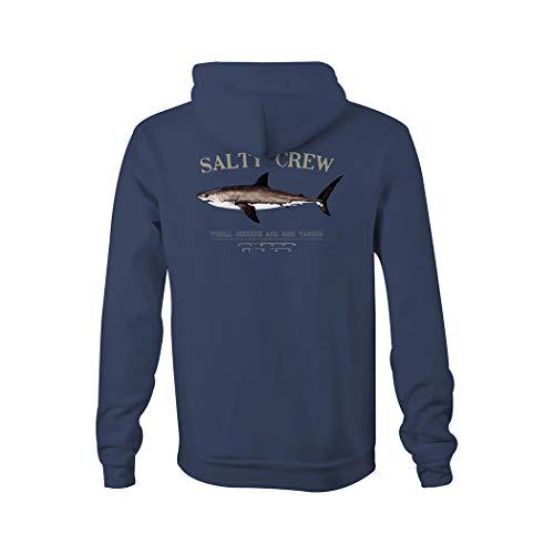 Salty Crew Bruce Polaire à capuche pour homme - bleu - Large