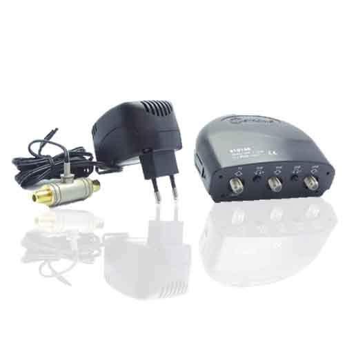 Metronic 410140 - Amplificadores con kit de amplificación (función acoplador y alimentación...