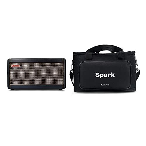 Pacchetto borsa Positive Grid Spark Amp, amplificatore per chitarra, amplificatore per basso e chitarra acustica, amplificatore combo da 40 Watt, portatile