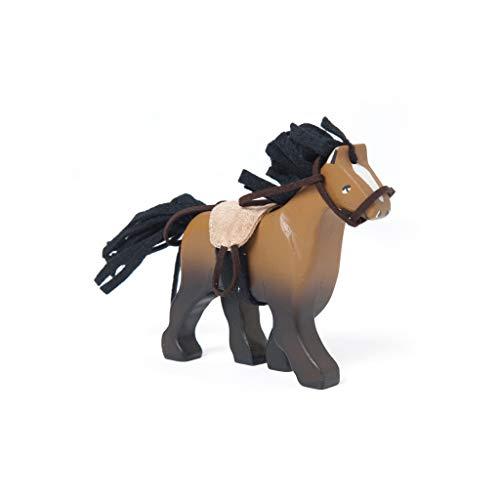 Le Toy Van - Caballo con Silla de Montar, Color marrón