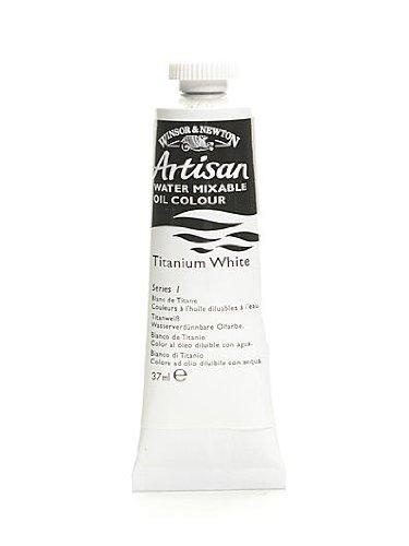 Winsor & Newton Artisan Water Mixable Oil Colours titanium white 37 ml 644 [PACK OF 3 ]