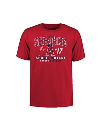 [マジェスティック] トレーニングウェア 大谷翔平 SHOTIME Tシャツ [メンズ] MM08LA8001 RED (1) 日本 L (日本サイズL相当)