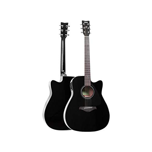 Instrumentos musicales Guitarra eléctrica de Placa única Guitarra Yamaha FGX800C Principiante Electric...