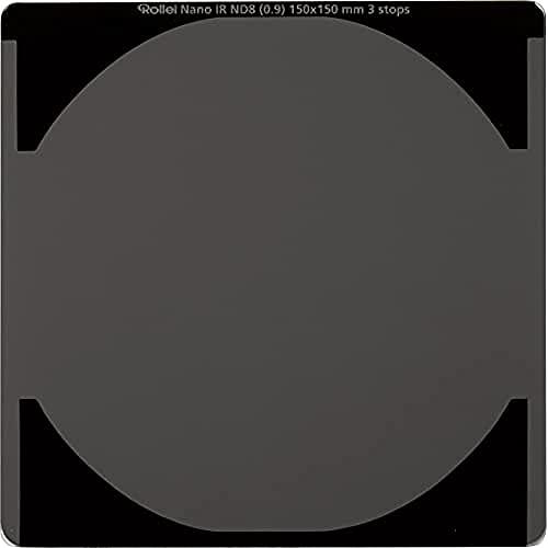 Rollei Filtro rectangular profesional ND 8 (3 Stops) filtro de densidad neutra vidrio óptico HD 150x150 mm
