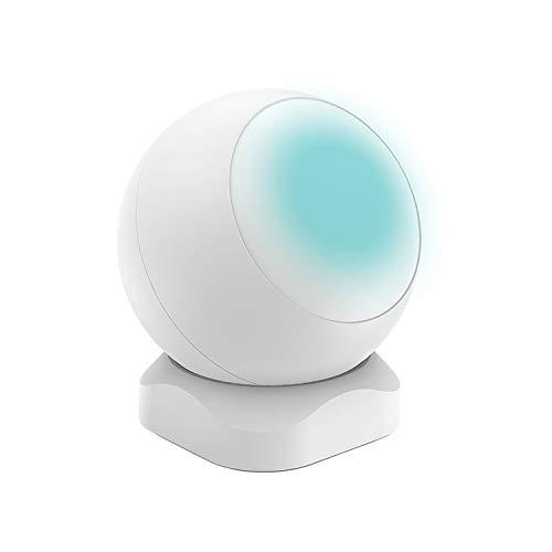 KKmoon RSH-ZigBee-PIR01 Intelligente sensor voor huishoudelijk gebruik met bewegingsmelder, infraroodsensor voor het menselijk lichaam, wit