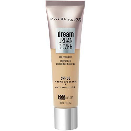 Maybelline New York Dream Urban Cover 265 Soft Tan, 30 milliliters