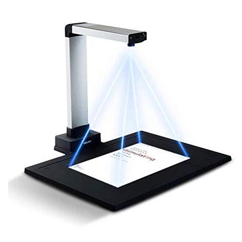 Scanner Book und Document, 10 Millionen Pixel HD, Kamera, Erfassungsgröße A4, mit Smart OCR für Windows