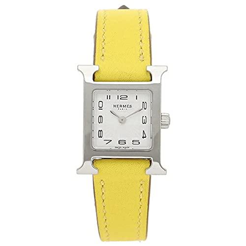 [エルメス] 時計 レディース Hウォッチ 17.2×17.2mm TPM クォーツ HERMES (5)W038956WW00 イエロー [並行輸入品]