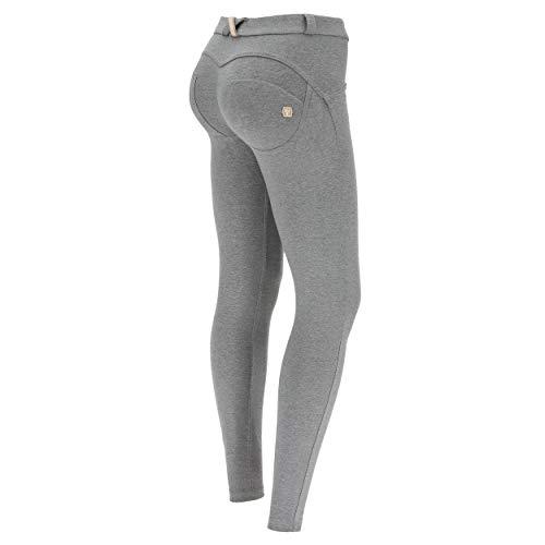 FREDDY Pantalone WR.UP® Skinny in Cotone Elasticizzato - Grigio Melange - Large