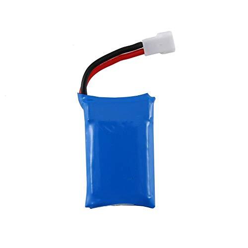 zjpvip218 3,7 V 600 mAh wiederaufladbare Batterie Lipo Batterie RC Lithium Batterie Auto Set mit Schutzplatine für Syma X9 Flying Car-1 STÜCK_C.