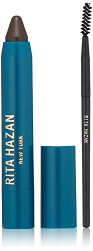 Rita Hazan Temple +Eyebrow Edition Root Concealer Stick, Light Brown