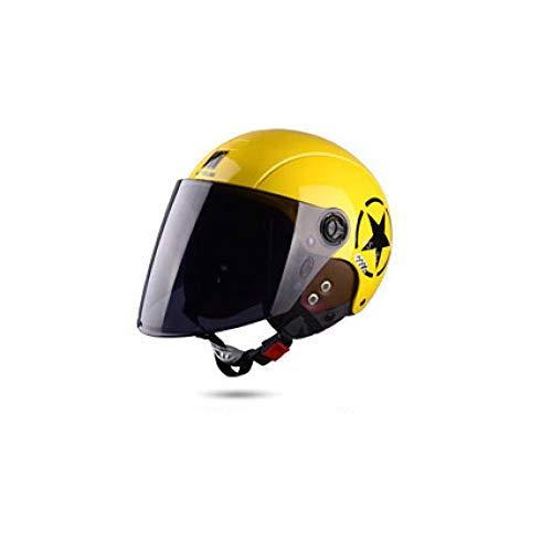 nohbi Ultralight Casque Adulte,Casque de Moto Mobility, Casque Hiver Chaud - Jaune B,Montagne Route Vélo Casque Adulte Unisexe