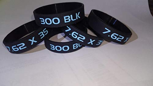 (Q) 300 Blackout Magazine Marking Bands Easy ID Blue and...