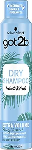 Schwarzkopf got2b Dry Shampoo Extra Volume 200ml