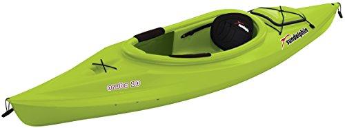 SUNDOLPHIN Aruba Sit-in Kayak (Citrus, 10-Feet)