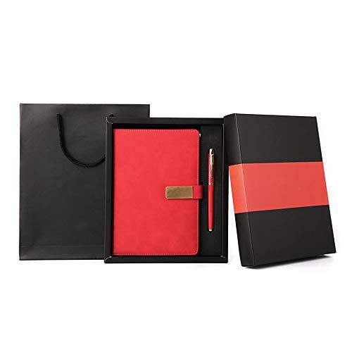 langchao notebook set termo taza bluetooth audio USB pen regalo de empresa regalo práctico LDB-03 rojo