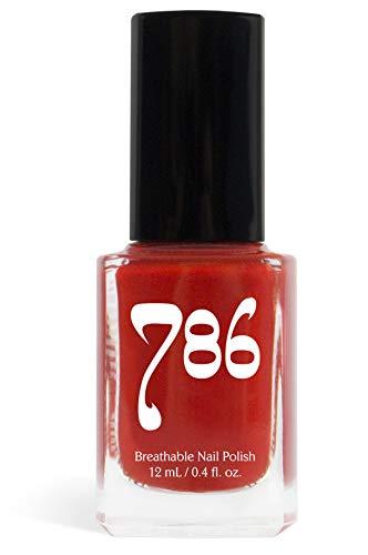 786 Cosmetics Breathable Nail Polish - Vegan Nail Polish, Cruelty-Free, Healthy, Halal Nail Polish, Fast-Drying Nail Polish (Marrakech)
