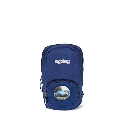 Ergobag Ease S Blaulicht, Freizeitrucksack Kindergartenrucksack, 6 Liter, 270 g, Blau