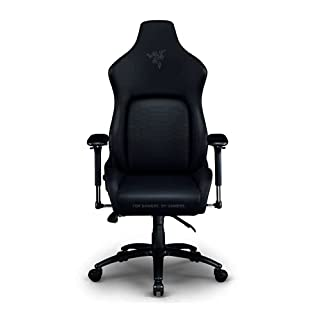 Razer Iskur Gaming-Chair: Ergonomic Lumbar Support System - Multi-Layered Synthetic Leather Foam Cushions - Engineered to Carry - Memory Foam Head Cushion - Black (B08WVT8TYQ)   Amazon price tracker / tracking, Amazon price history charts, Amazon price watches, Amazon price drop alerts