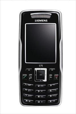 Siemens S75 - Teléfono móvil, color negro [Importado de Alemania]