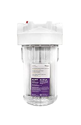 Whirlpool WHKF-DWHBB Filter Housing with Pressure Relief Valve - Clear from Whirlpool