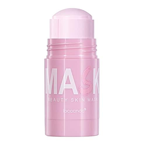 Harilla Mascarilla de arcilla purificadora de rosas, control de aceite hidratante facial, limpieza profunda de poros, mejora la piel, para todo tipo de piel