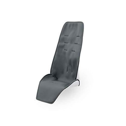 Quinny 1086102000 bequeme Sommer Sitzauflage, geeignet für Quinny Hubb, ZappFlex und Zapp Flex Plus, graphite, grau